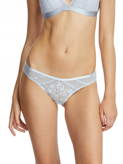 Lace Mesh Low-rise Cheeky Panty