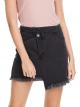 Mid-Waist Denim Skirt